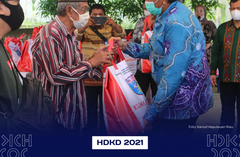 BAKTI SOSIAL HARI DHARMA KARYA DHIKA (HDKD) TAHUN 2021